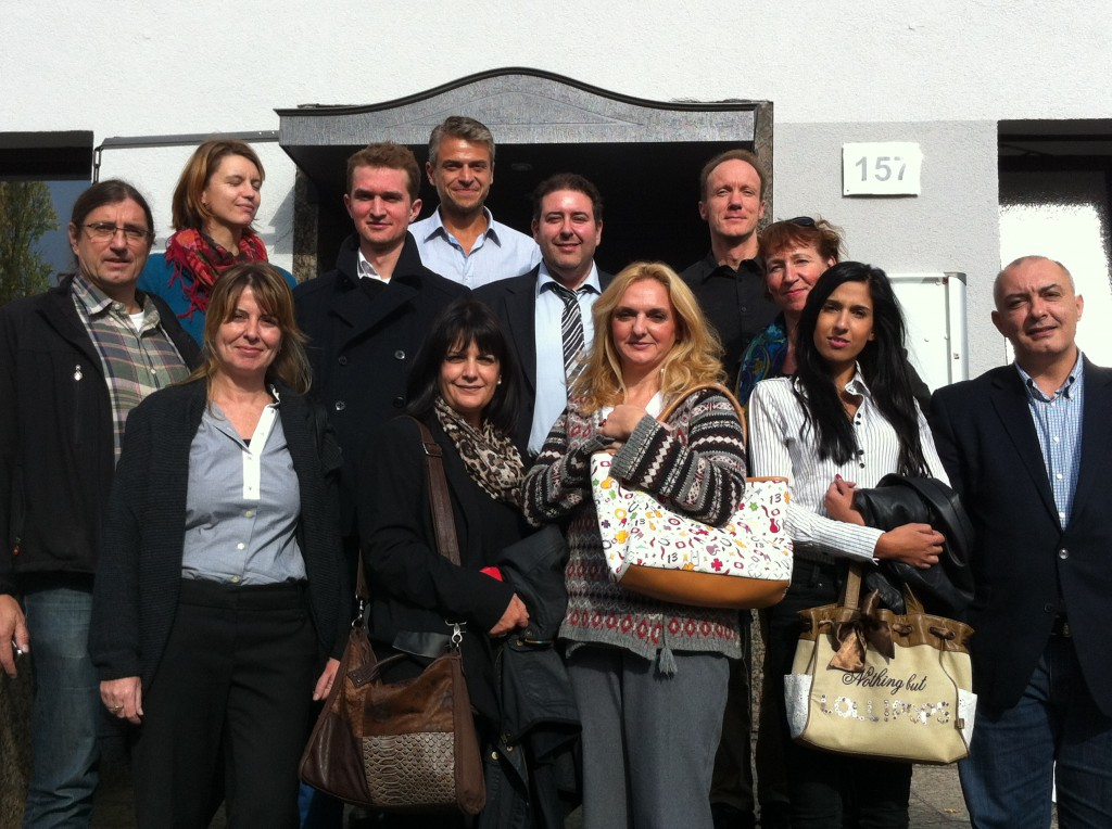 Representatives from the national organizations gathering in Bonn, Germany for the 1. Consortium Meeting of Soufflearning 2