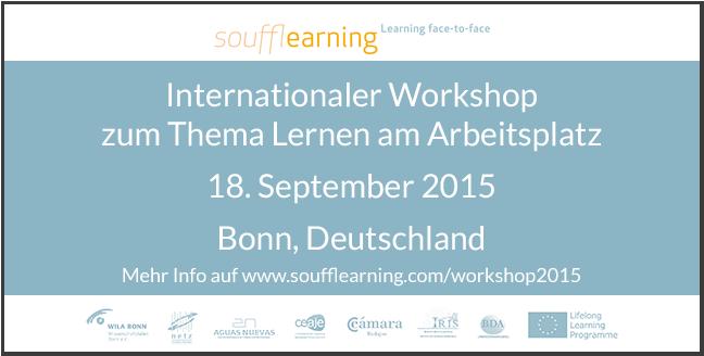 Workshop Lernen am Arbeitsplatz Bonn