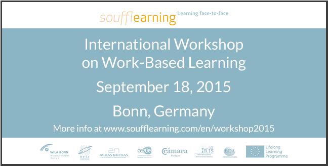 Work-based learning workshop in Bonn, Germany